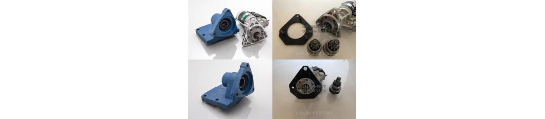 Комплекты переоборудования с ПД на стартер (МТЗ-80, ЮМЗ-6, Т-150, Нива)