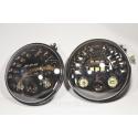 Cветодиодная LED фара 80Вт Нива, УАЗ 469, ВАЗ 2101, 2121, FJ Cruiser, мотоцикл, мото 7 дюйм (Комплект)